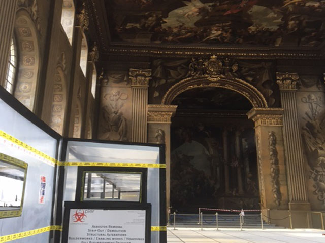 Old Royal Navel College, Painted Hall, Greenwich